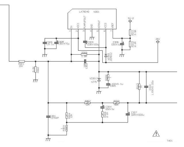 Таблица 2 основные технические характеристики микросхемы ta8210