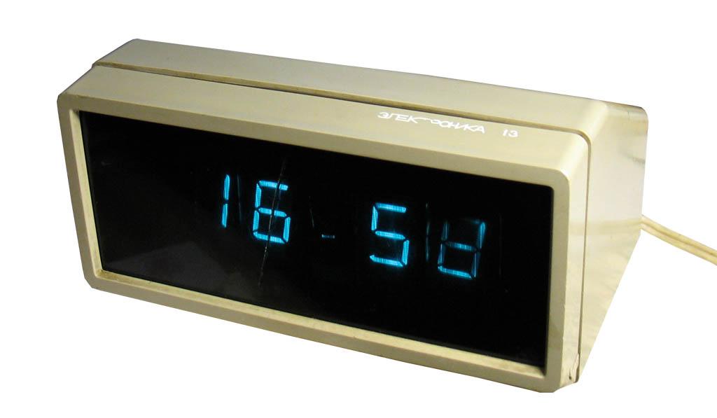 Схема часов электроника 13.