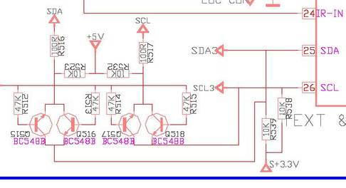 электрическая схема телевизора